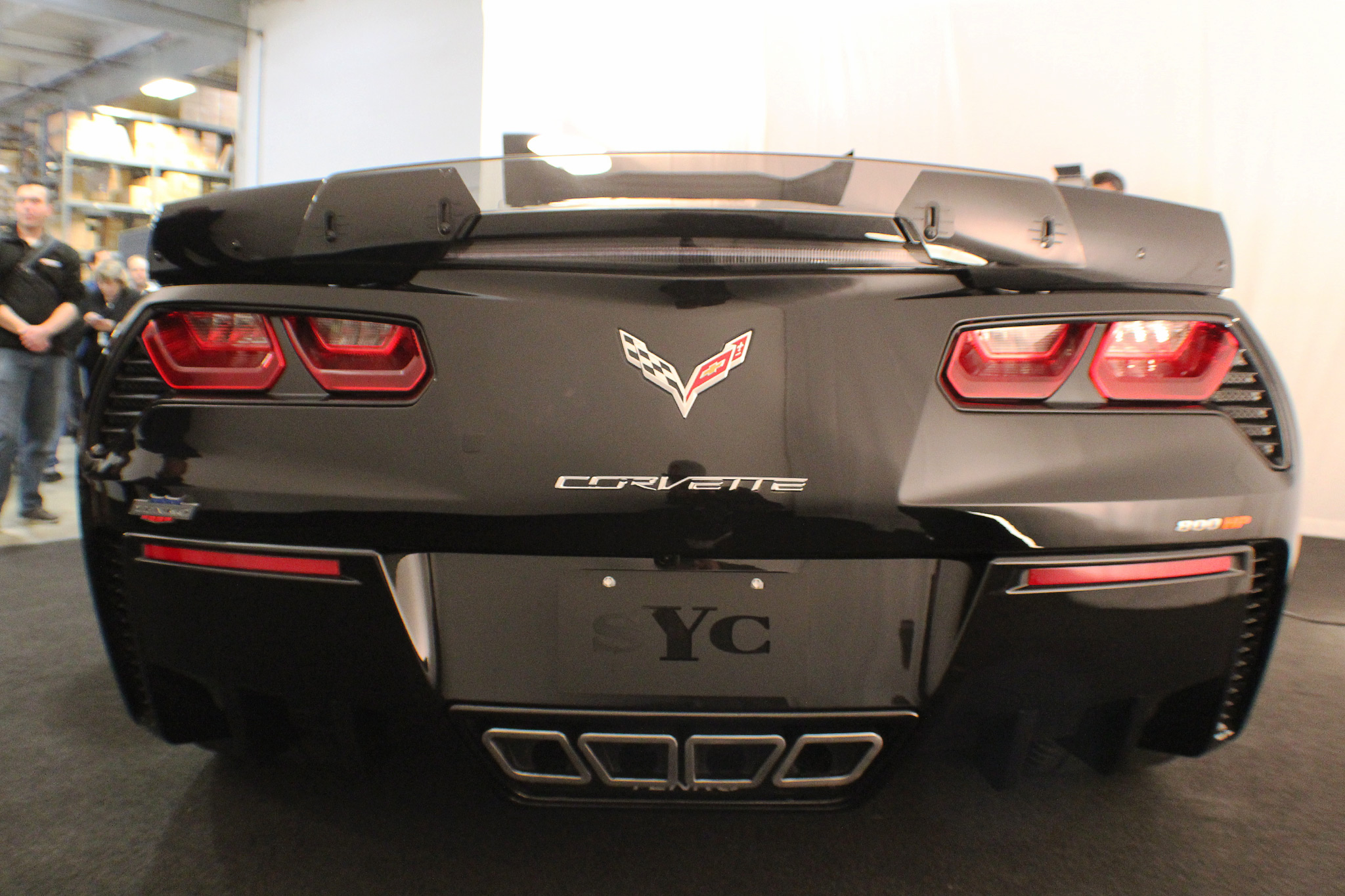 Yenko-2017-Chevrolet-Corvette-Rear
