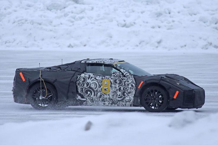 H ή Chevrolet Corvette C8 ό Autoblog Gr