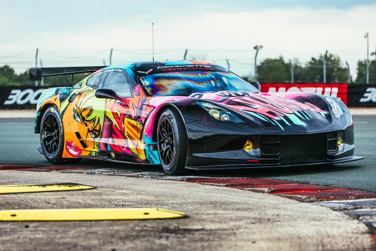 Corvette C7.R/Larbre Compétition © SHARE & DARE