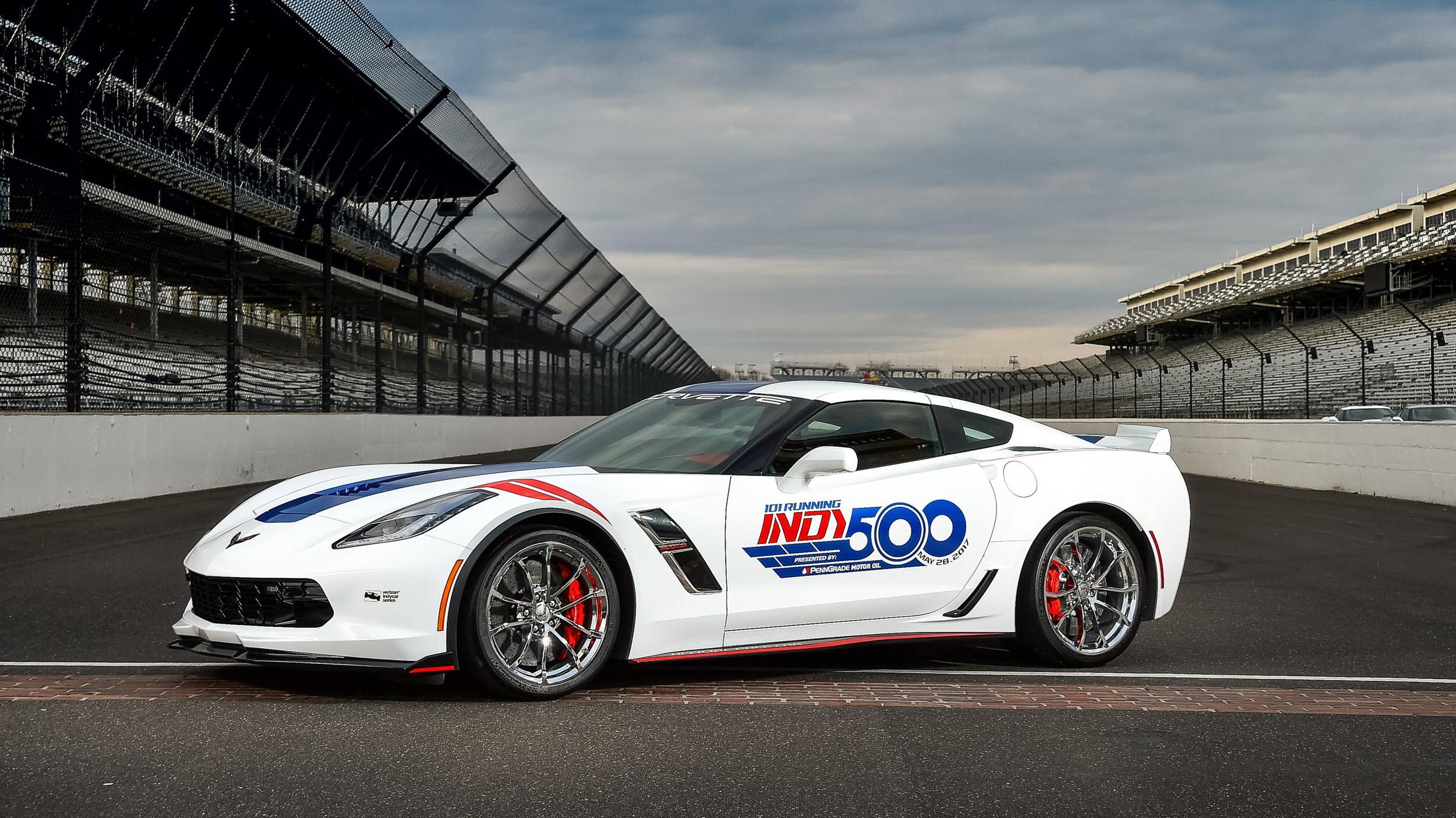Chevrolet Corvette Grand Sport pace car Indy 500 (1)