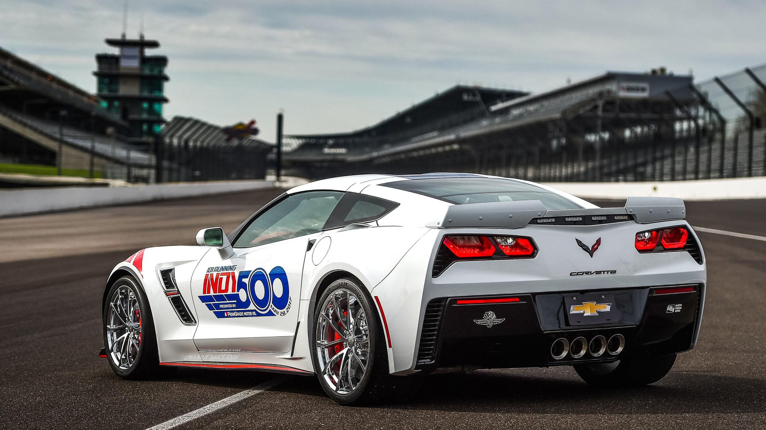 Chevrolet Corvette Grand Sport pace car Indy 500 (2)