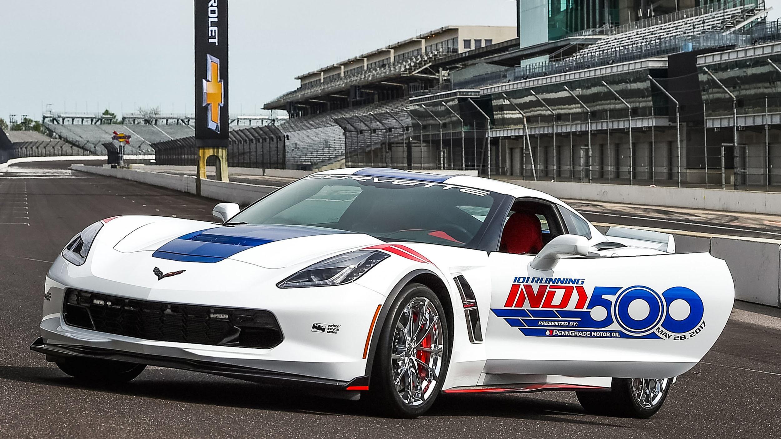 Chevrolet Corvette Grand Sport pace car Indy 500 (4)