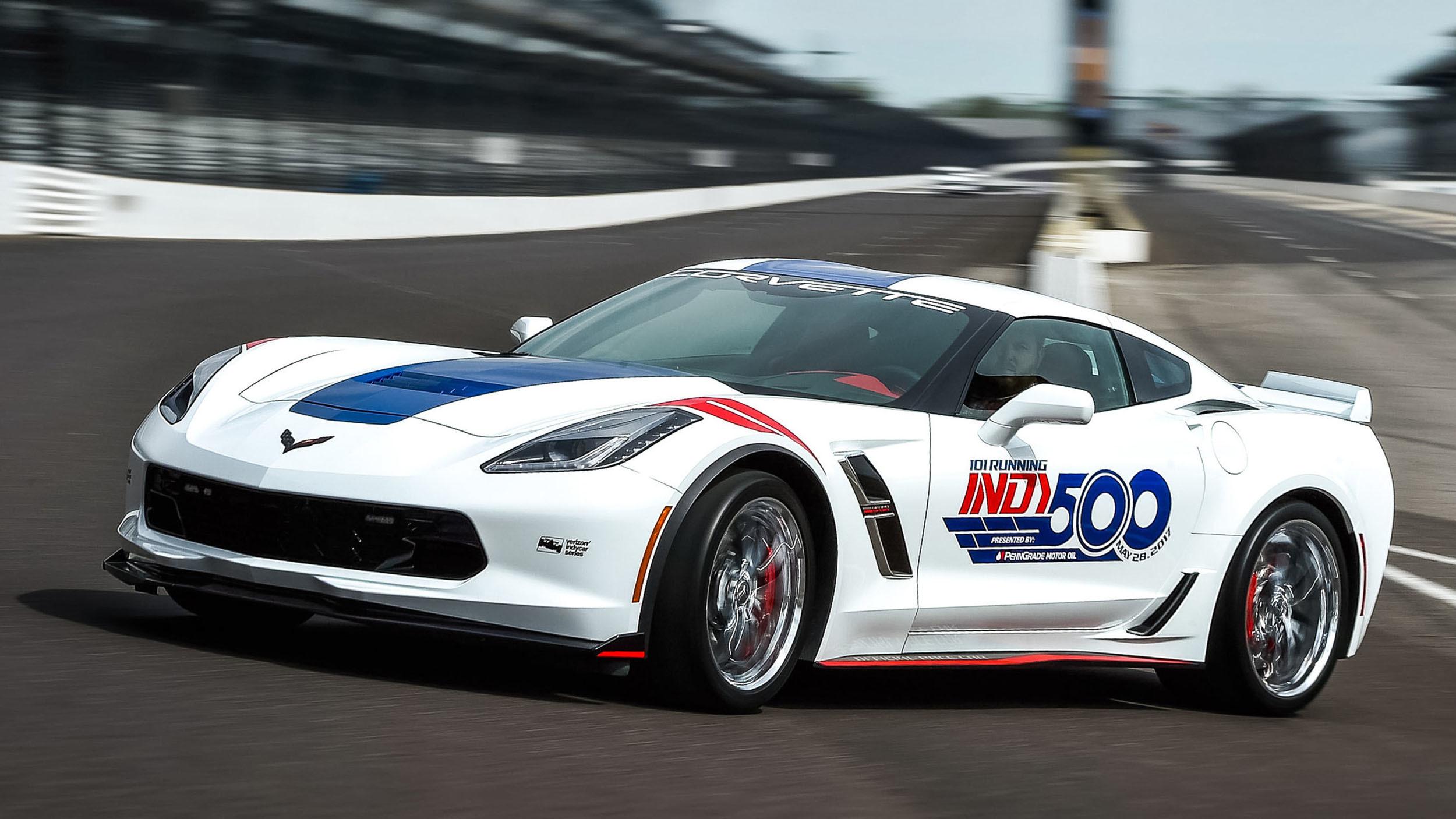 Chevrolet Corvette Grand Sport pace car Indy 500 (5)