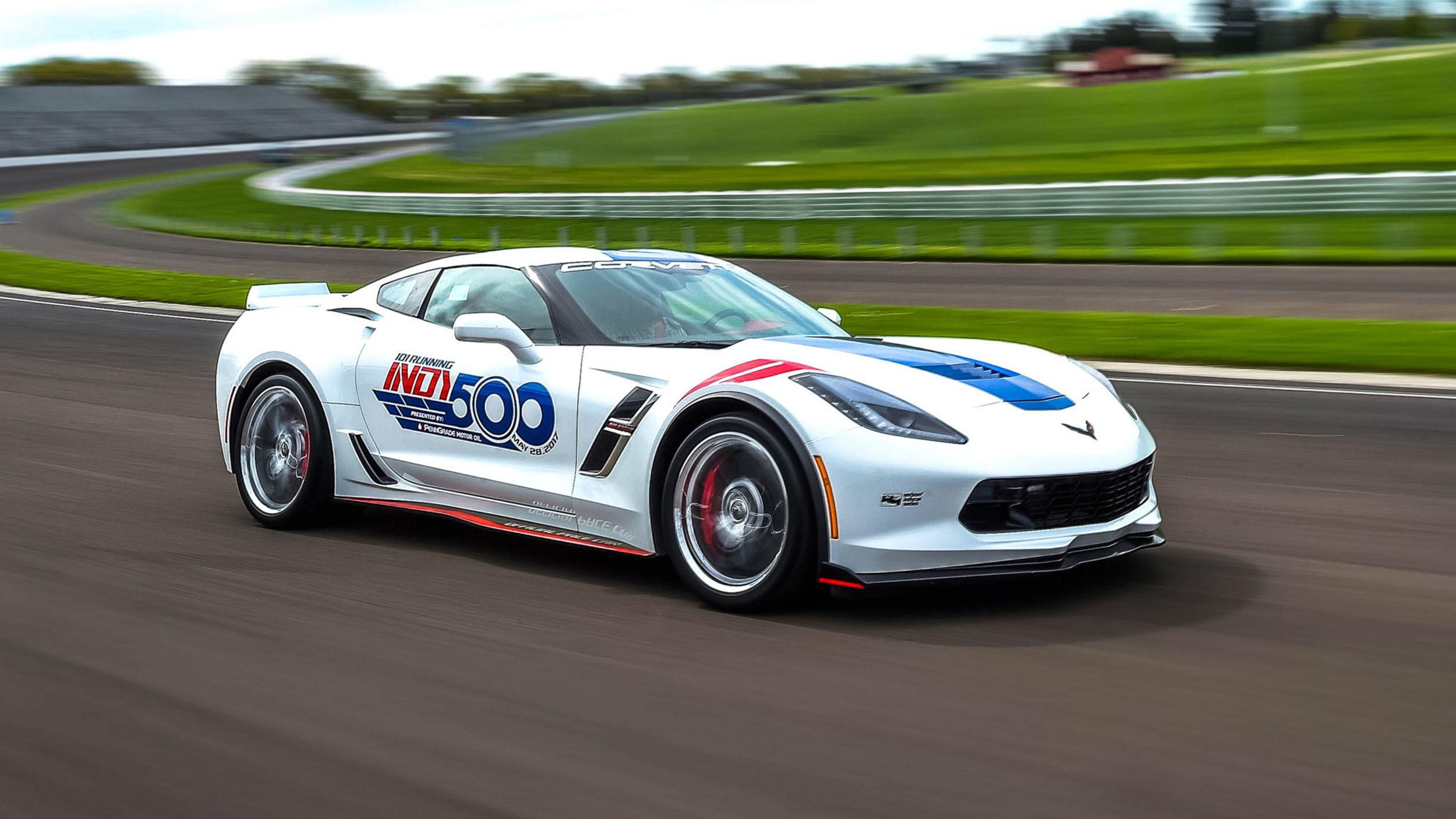 Chevrolet Corvette Grand Sport pace car Indy 500 (6)