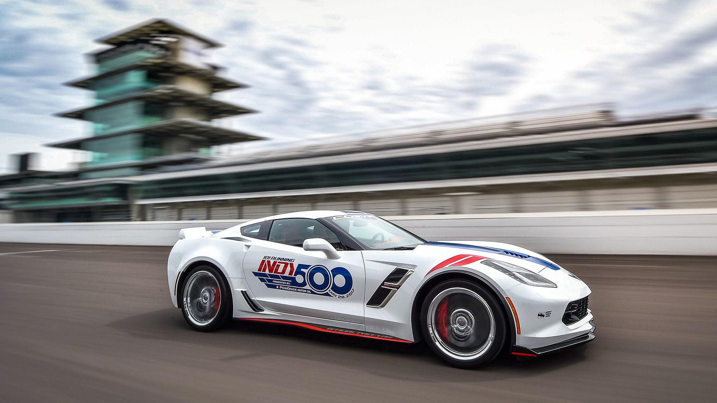 Chevrolet Corvette Grand Sport pace car Indy 500 (8)