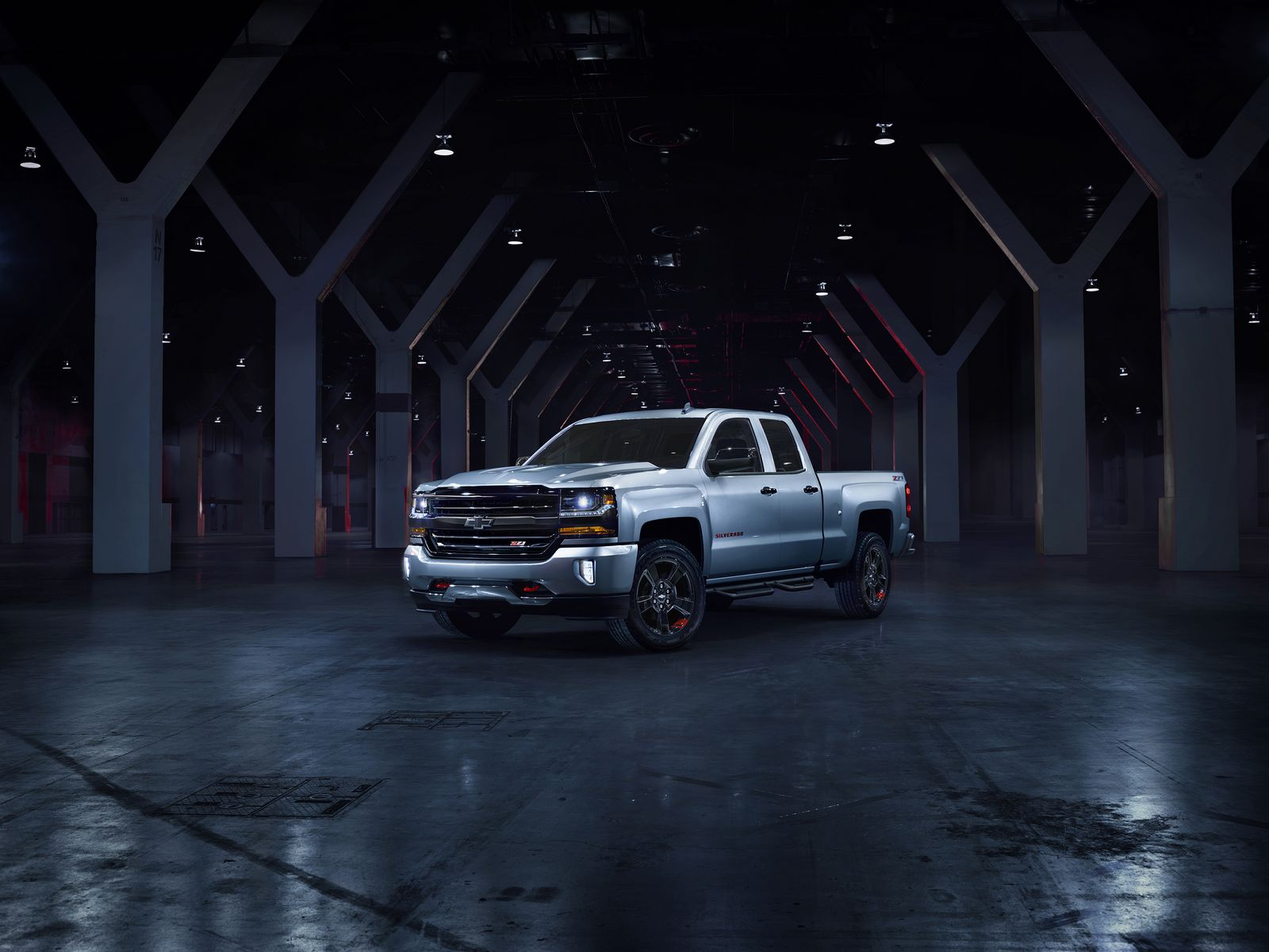 The Silverado Redline edition features red tow hooks, black mirror caps and a spray-in bedliner, showcasing the rugged utility Chevrolet truck buyers expect. Now available for purchase, Redline is offered on Silverado Double Cab LT Z71 and Crew Cab LTZ Z71.  All Redline vehicles will be available for purchase by the end of 2017 calendar year.