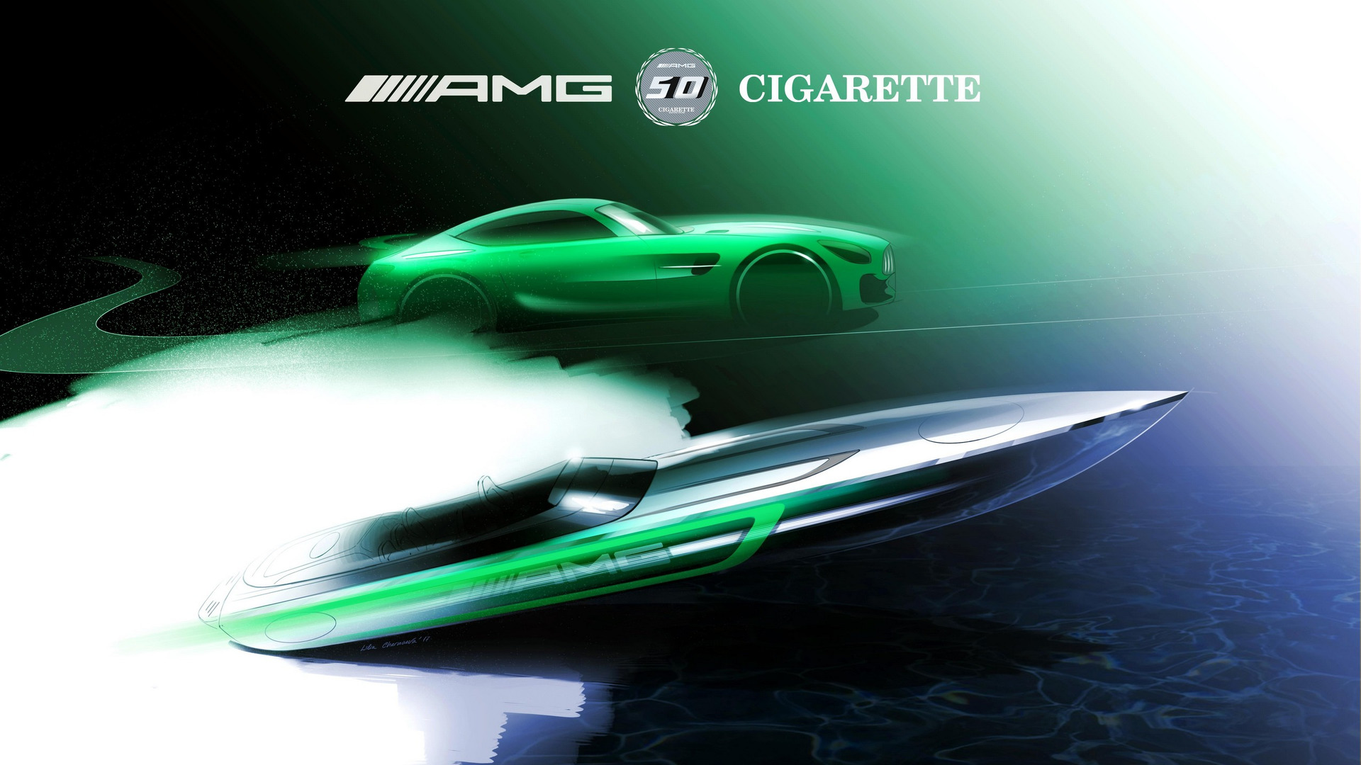 Mercedes-AMG and Cigarette Racing to unveil latest collaboration at the Miami International Boat Show