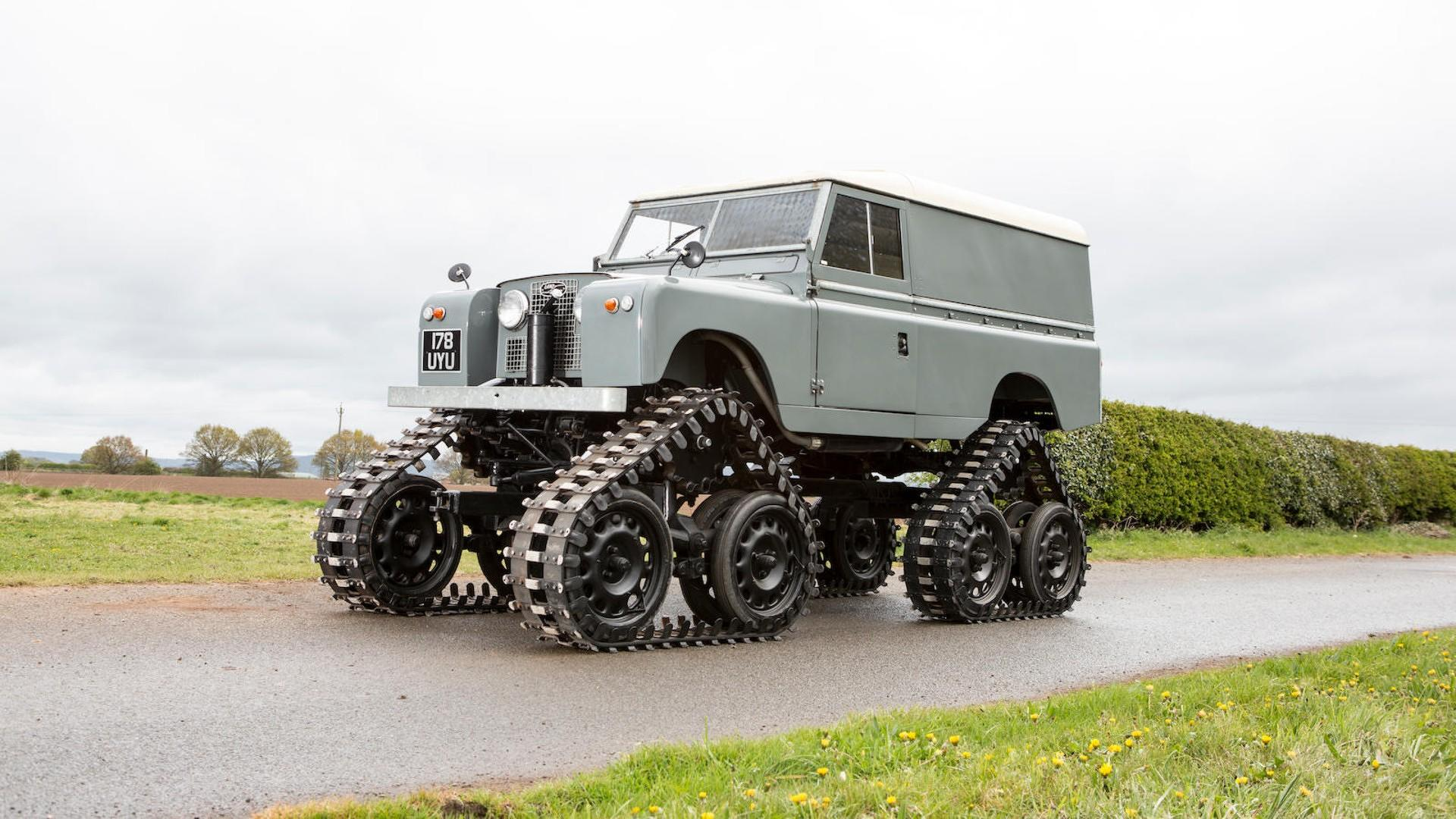 Cuthbertson Land Rover 1958 (2)