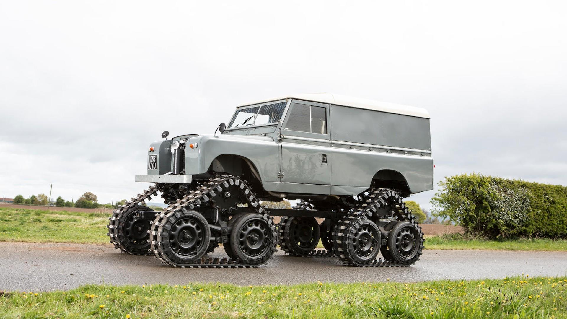 Cuthbertson Land Rover 1958 (5)