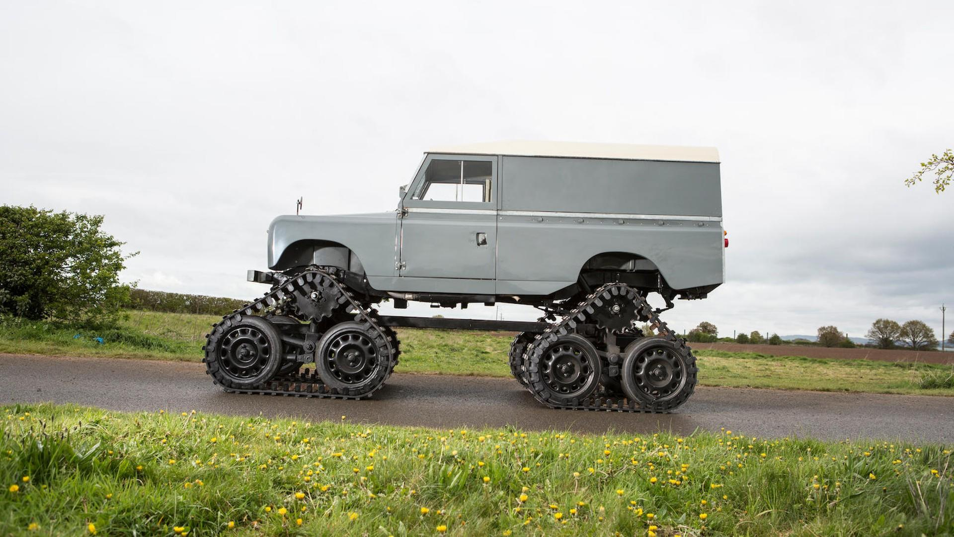 Cuthbertson Land Rover 1958 (6)