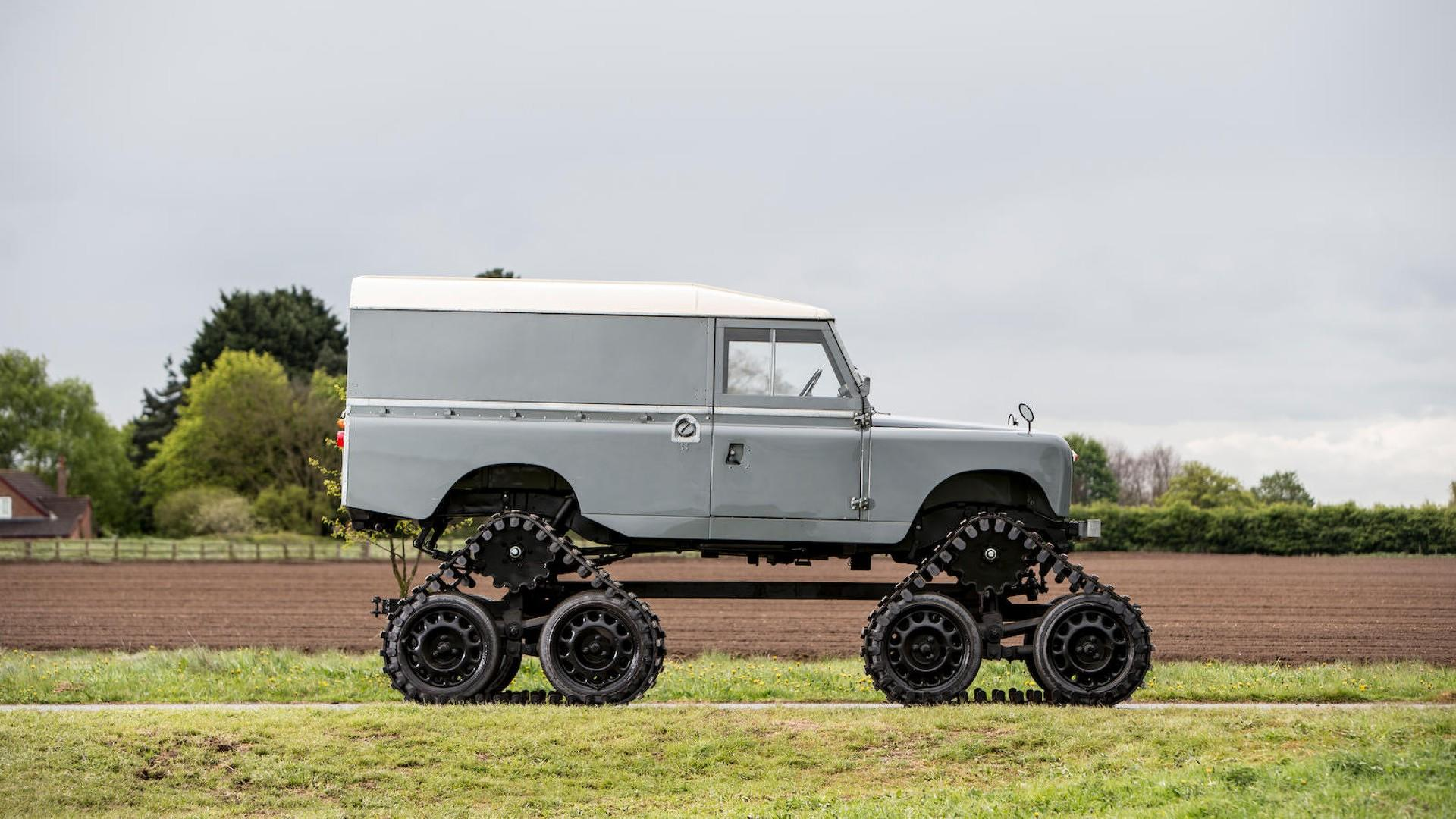 Cuthbertson Land Rover 1958 (7)