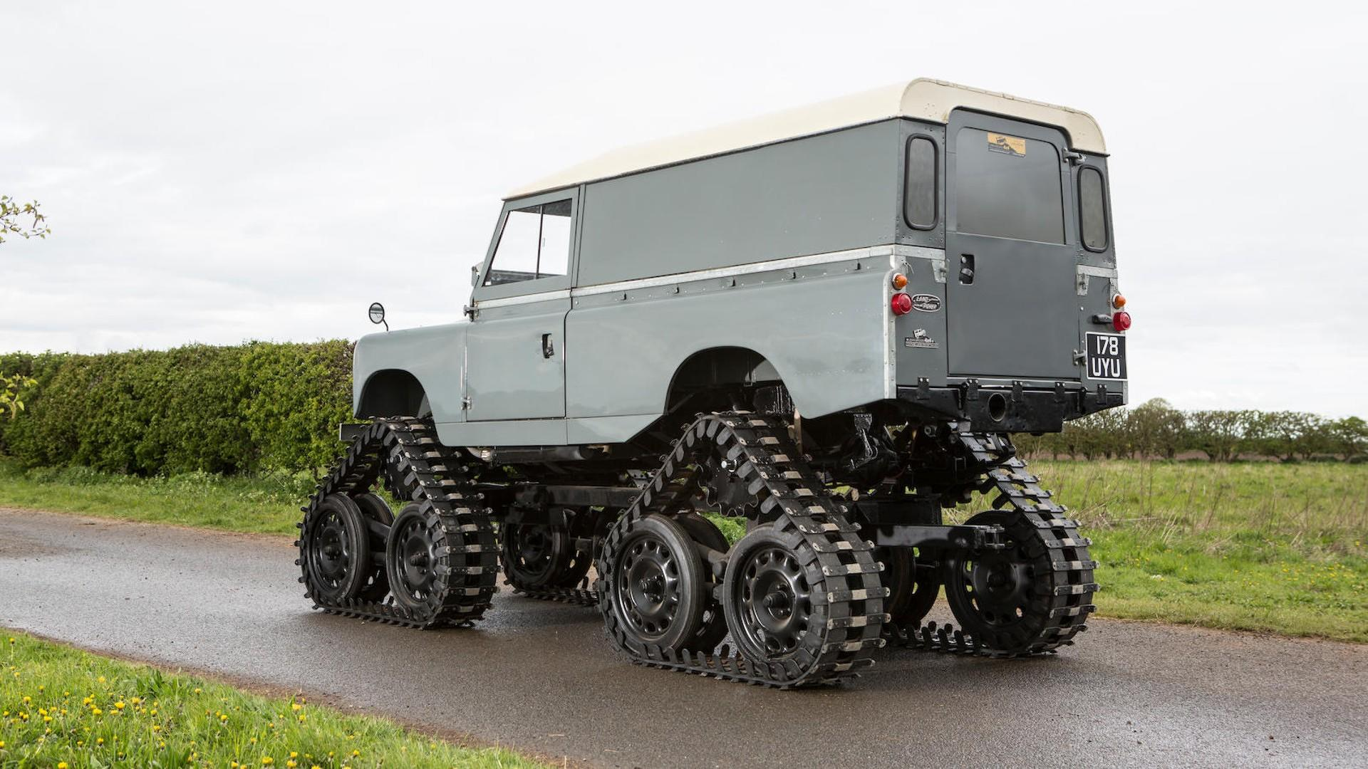 Cuthbertson Land Rover 1958 (8)
