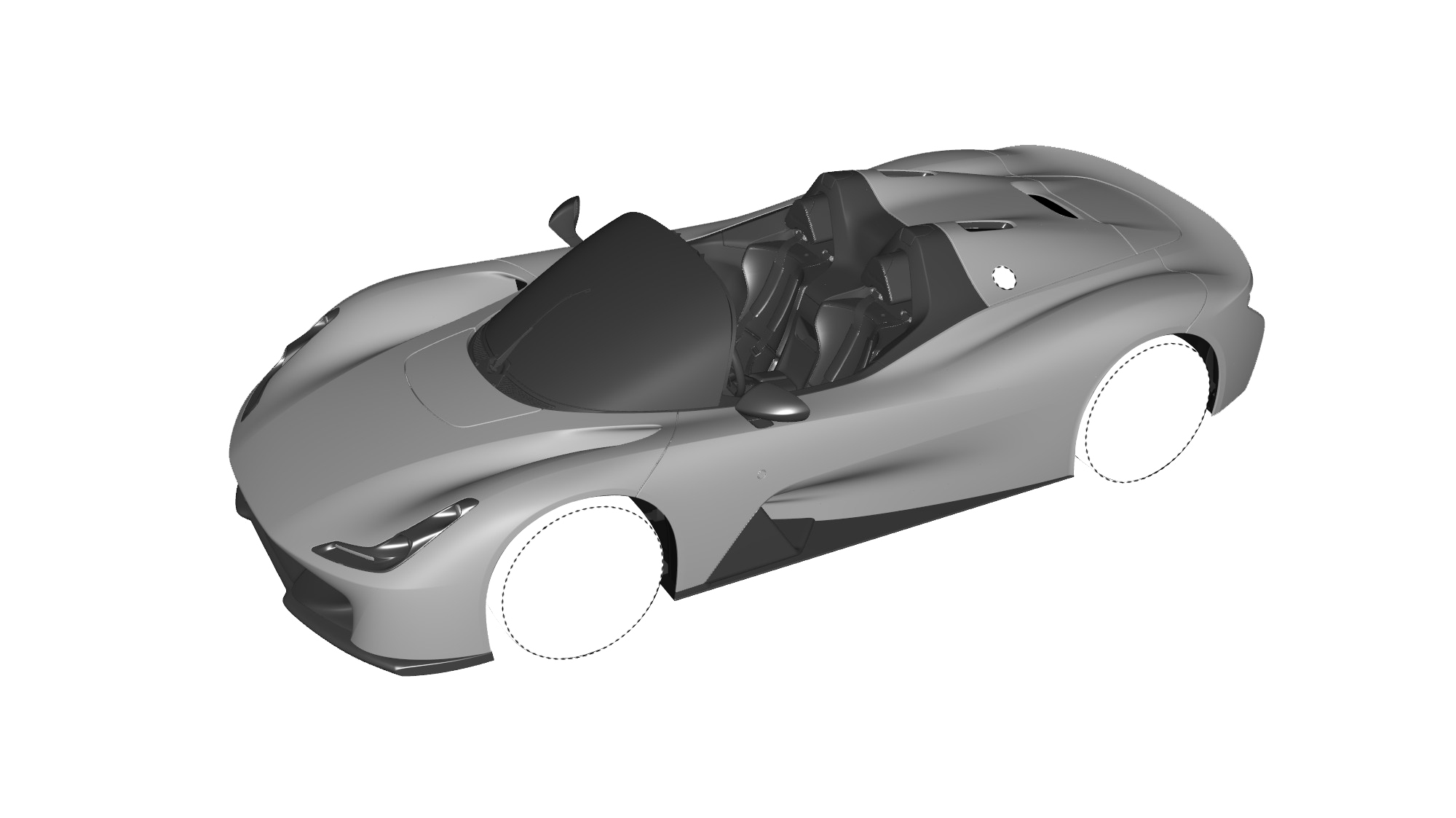 Dallara Stradale Design Sketches (11)