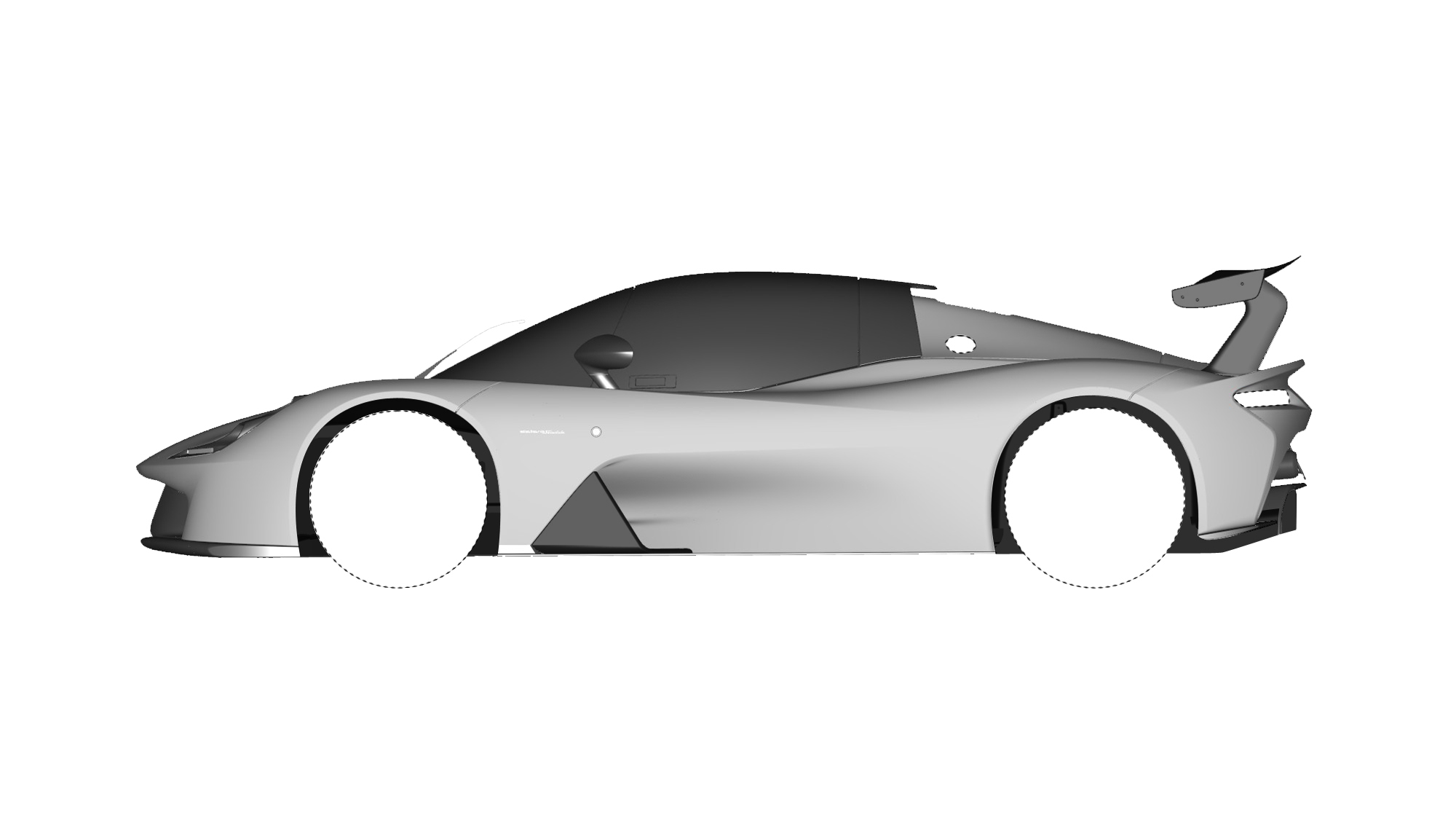 Dallara Stradale Design Sketches (15)