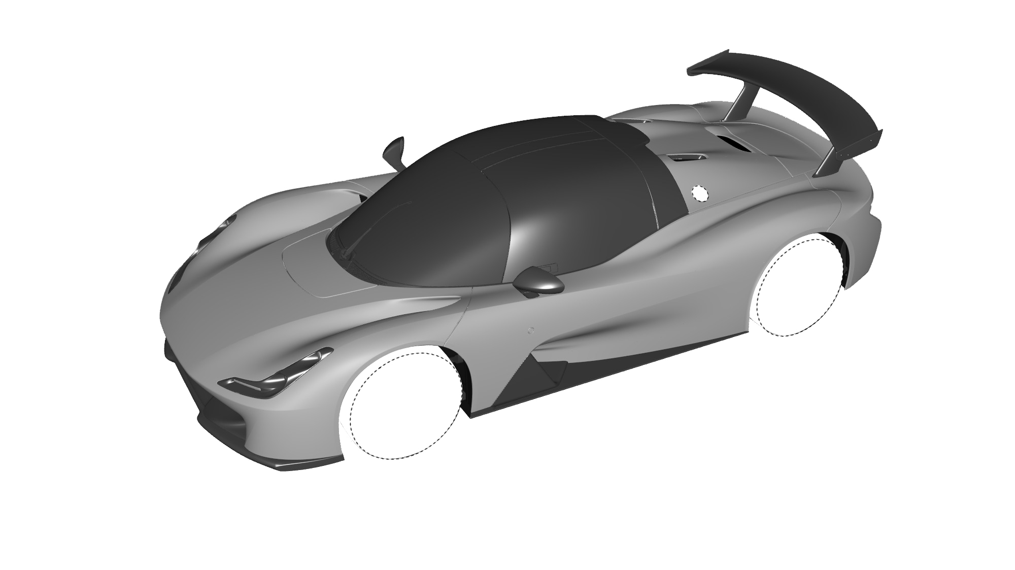 Dallara Stradale Design Sketches (17)