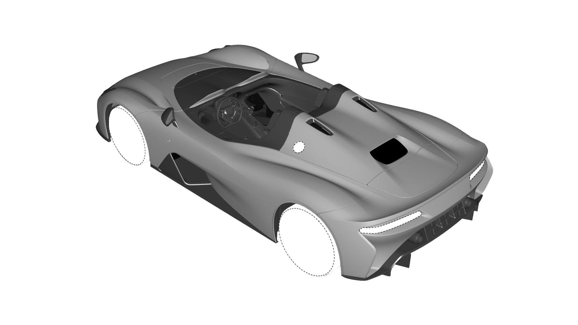 Dallara Stradale Design Sketches (2)