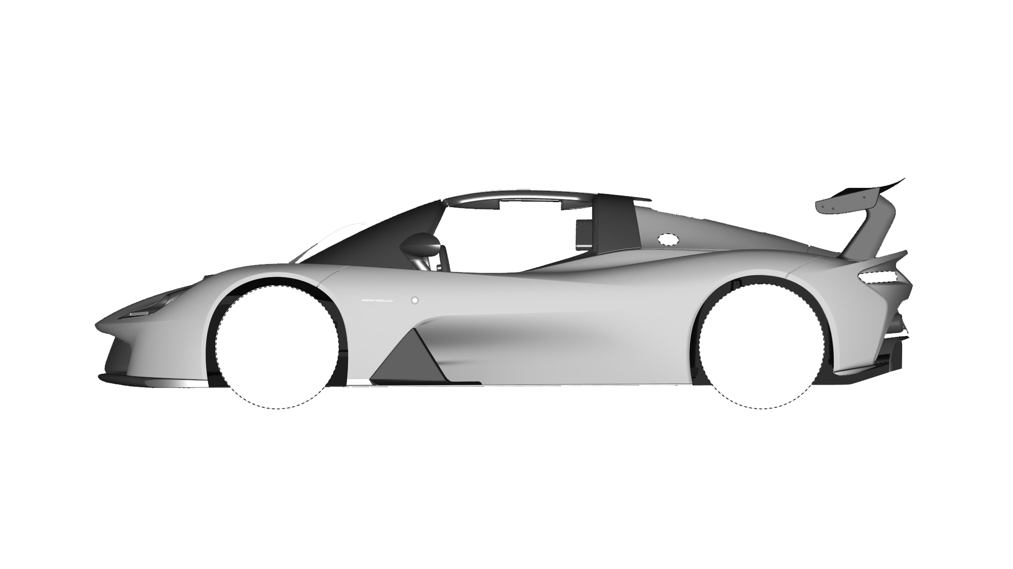 Dallara Stradale Design Sketches (21)