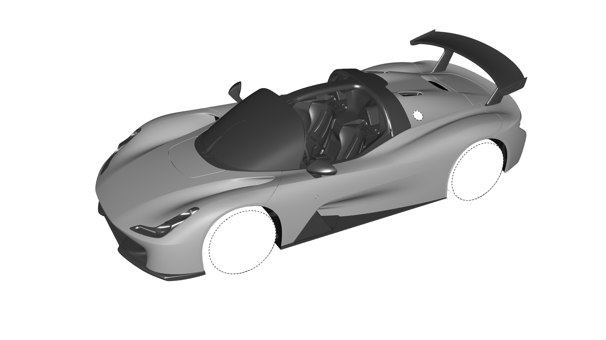 Dallara Stradale Design Sketches (23)