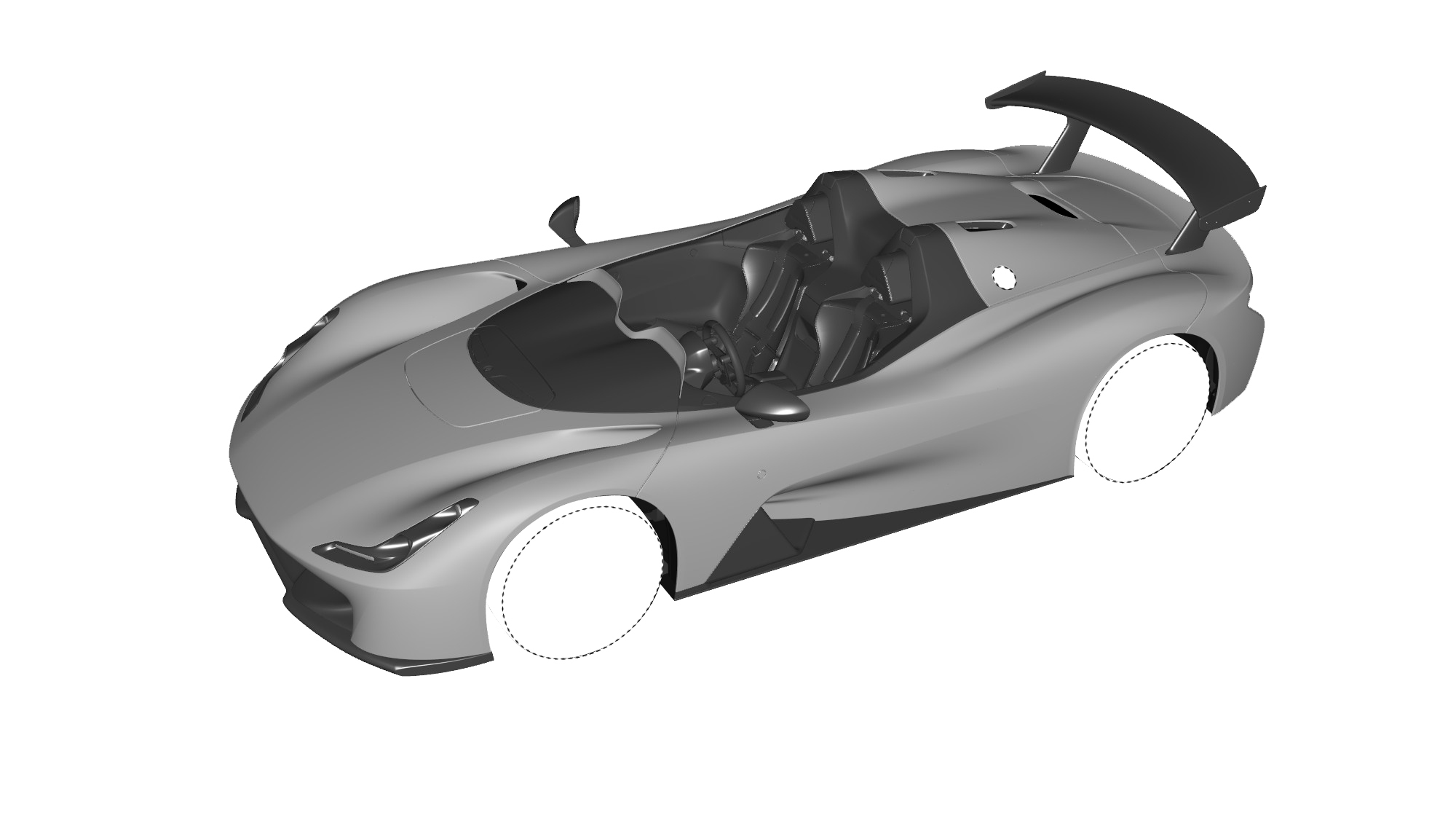 Dallara Stradale Design Sketches (29)