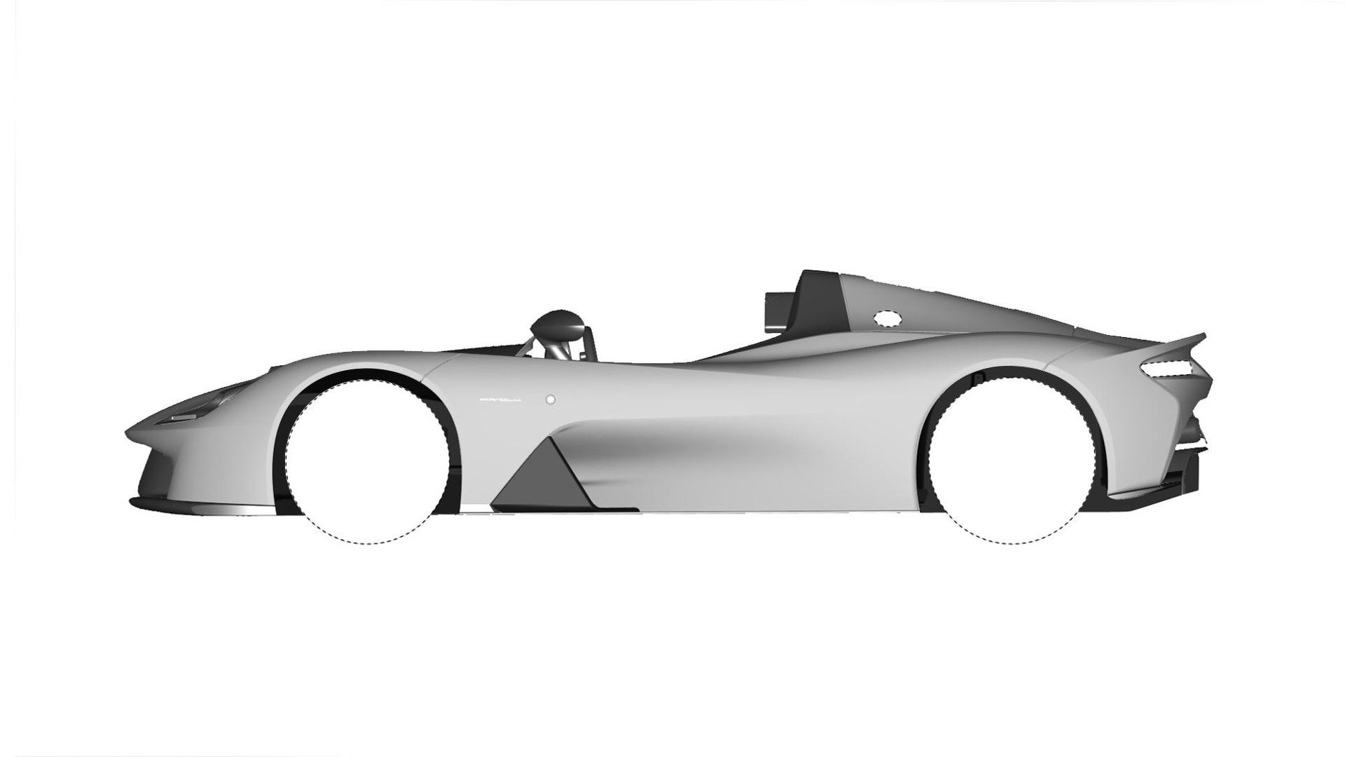 Dallara Stradale Design Sketches (4)