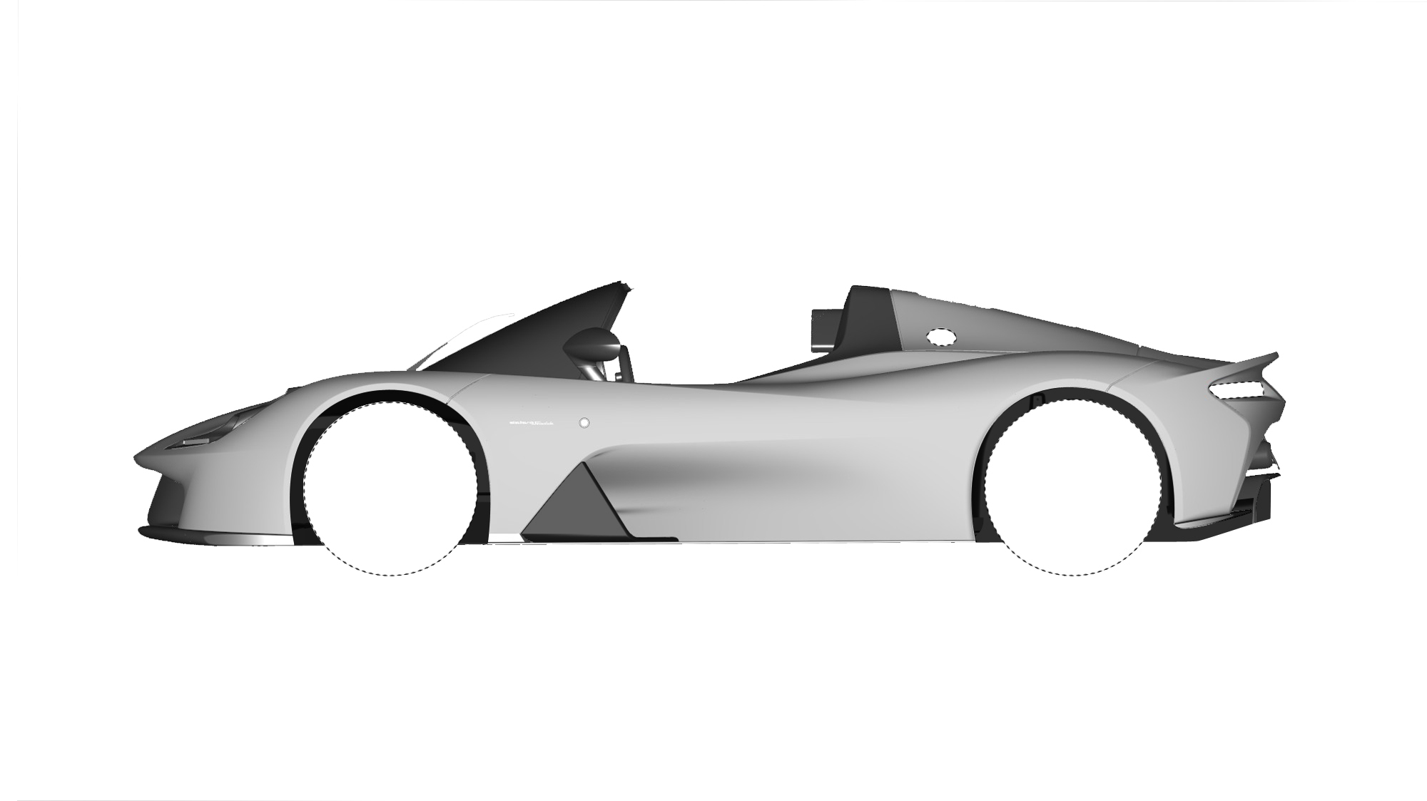 Dallara Stradale Design Sketches (9)