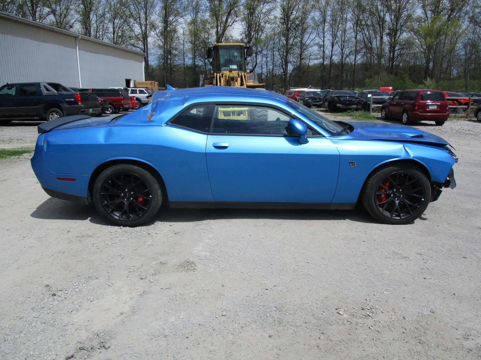 Dodge Challenger Hellcat crashed (11)