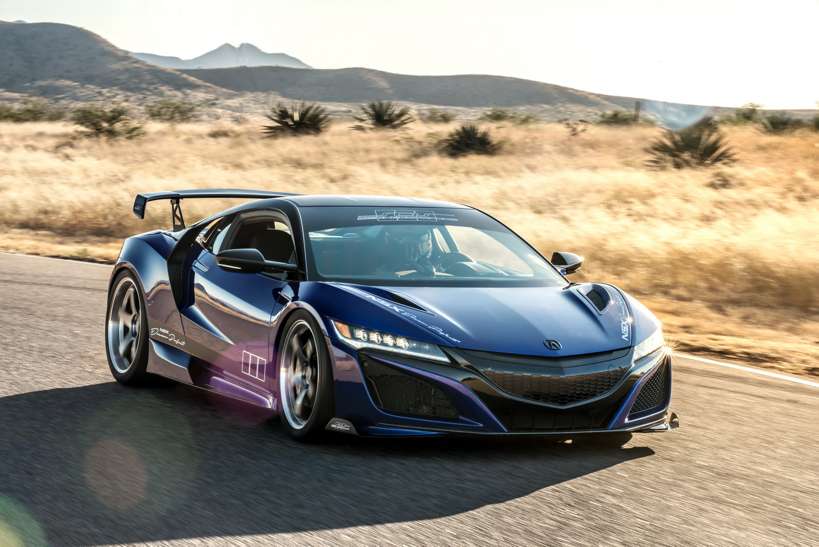 """Debuting at SEMA, the second generation Acura NSX """"Dream Project,"""" created by acclaimed NSX specialist, ScienceofSpeed, features subtle enhancements to the supercar's powertrain, suspension and styling to elevate performance."""