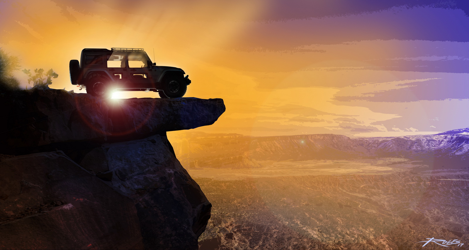 The Jeep® Switchback is one of several new concepts the Jeep® and Mopar brands have created for the 51st Easter Jeep Safari in Moab, Utah, next month.