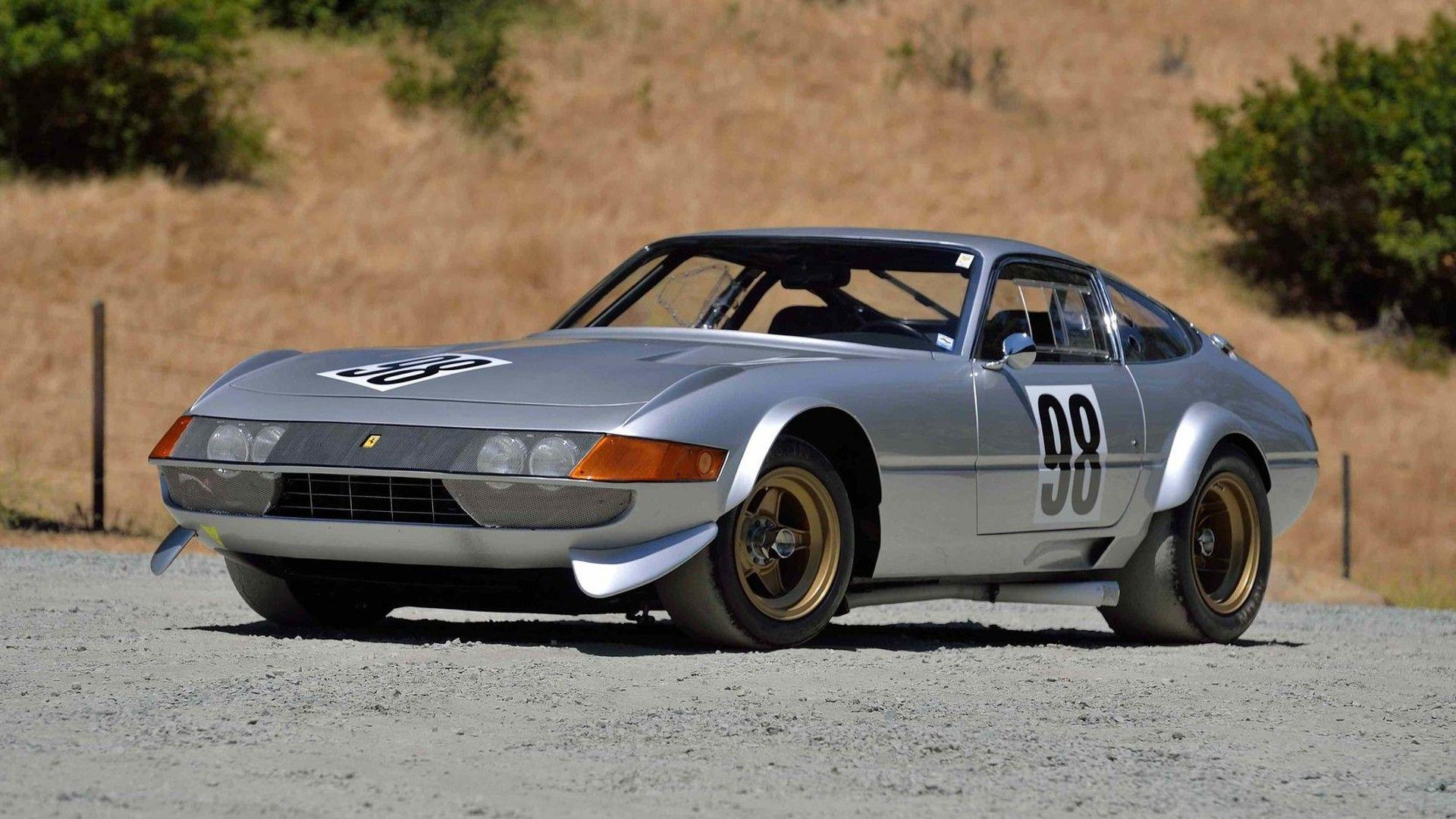 Ferrari 365 GTB4 Daytona Competizione in auction (1)