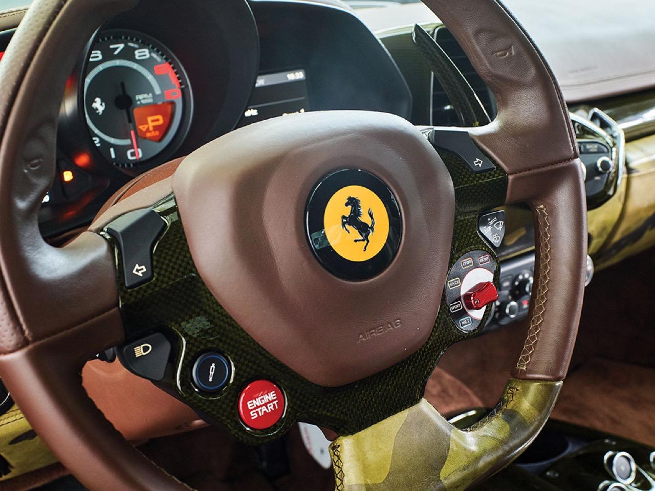 Ferrari 458 Italia Lapo Elkann in auction (14)