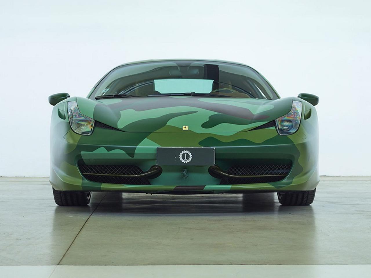 Ferrari 458 Italia Lapo Elkann in auction (3)