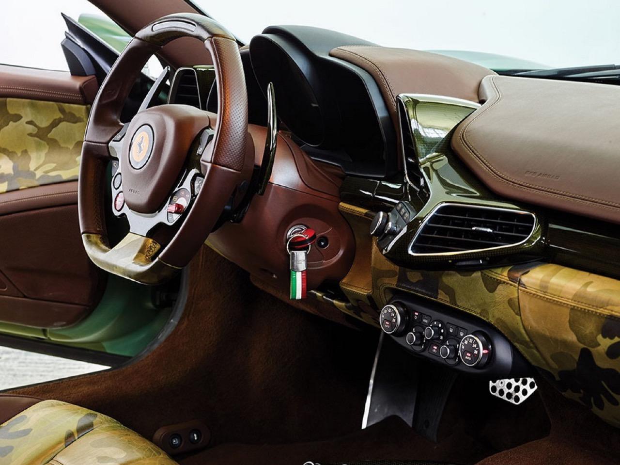 Ferrari 458 Italia Lapo Elkann in auction (8)