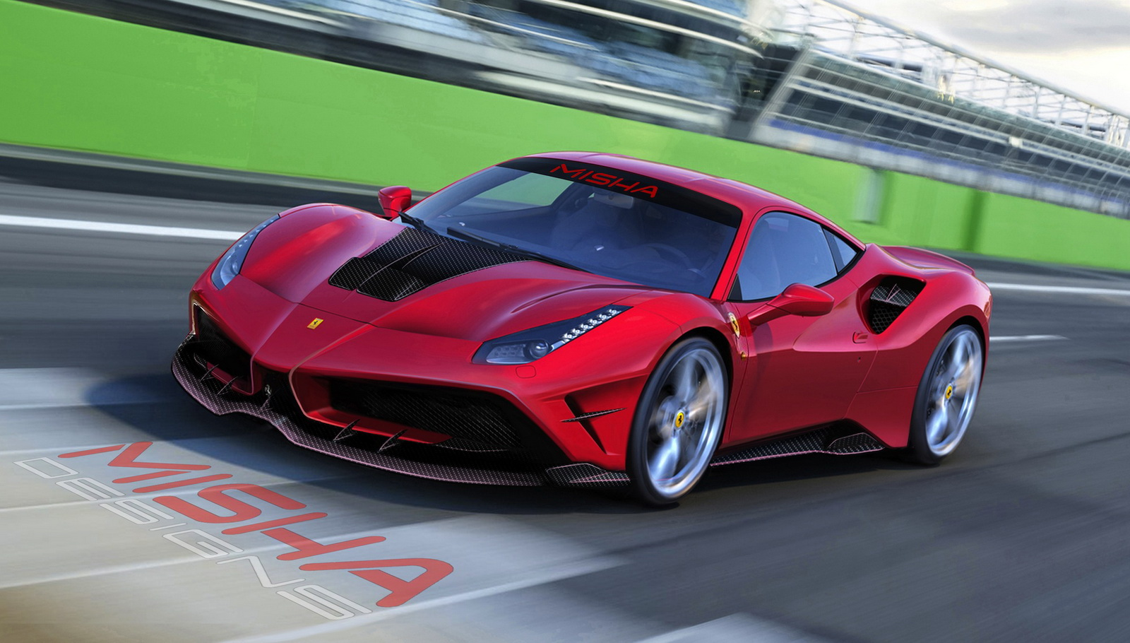 Ferrari 488 GTB by Misha Designs (1)