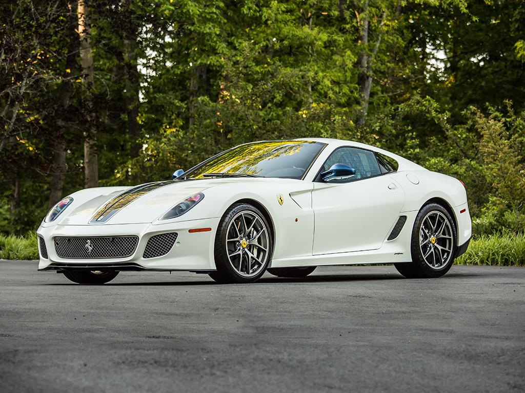 Ferrari 599 GTO in auction (1)