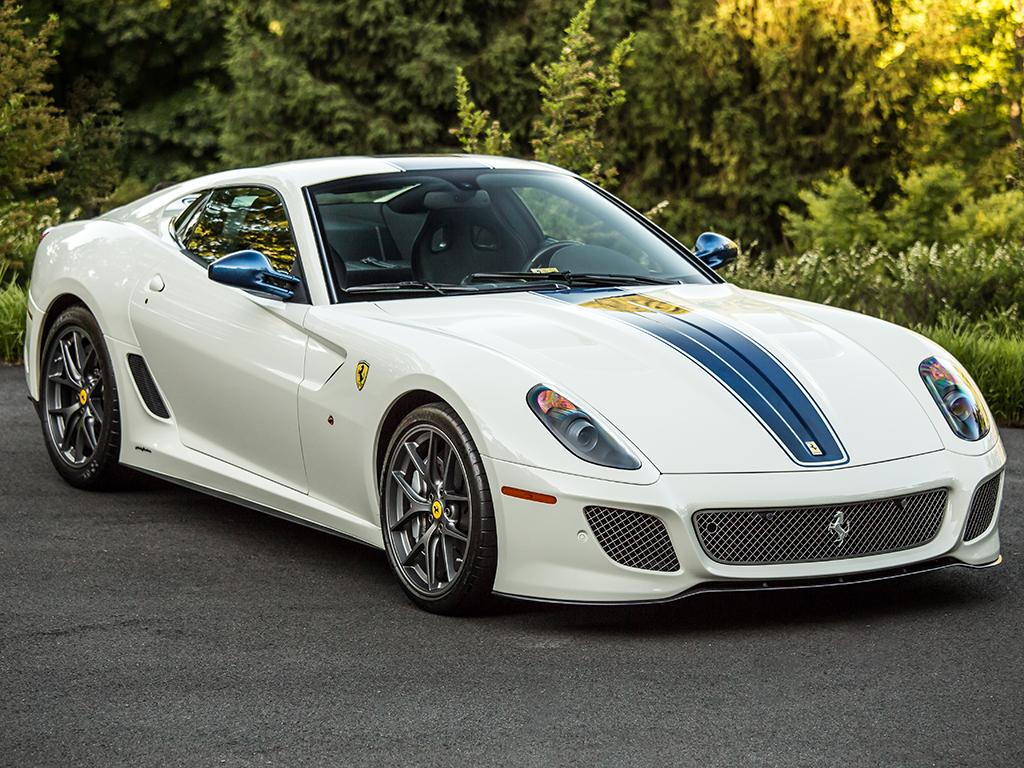 Ferrari 599 GTO in auction (2)