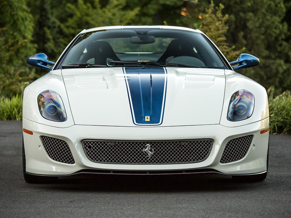 Ferrari 599 GTO in auction (4)