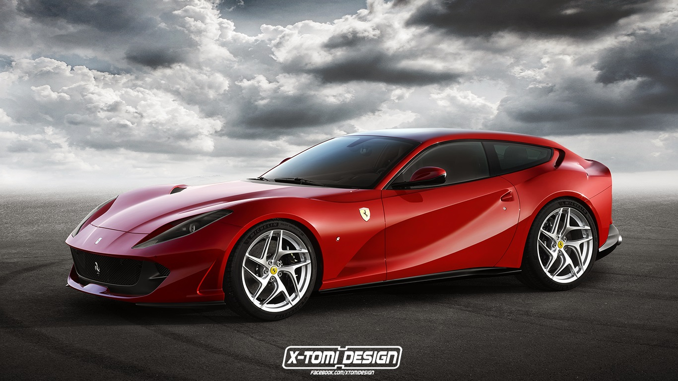 Ferrari 812 Shooting Brake2