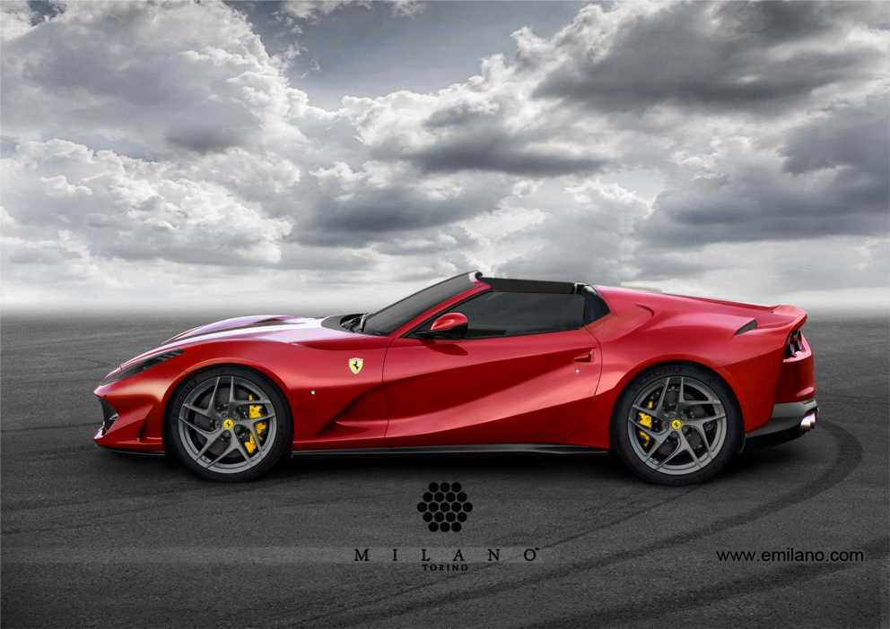 Ferrari-812-SuperFast-Aperta-Milano-Side-2017