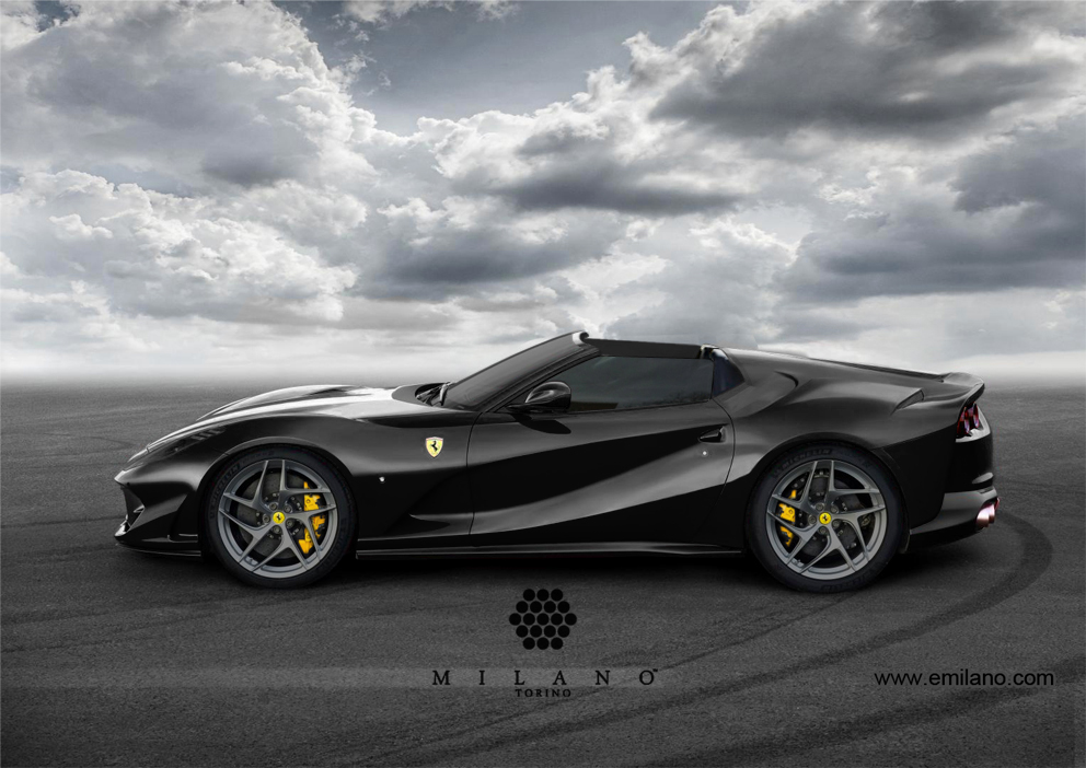 Ferrari-812-SuperFast-Aperta-Milano-Side-Nero-2017