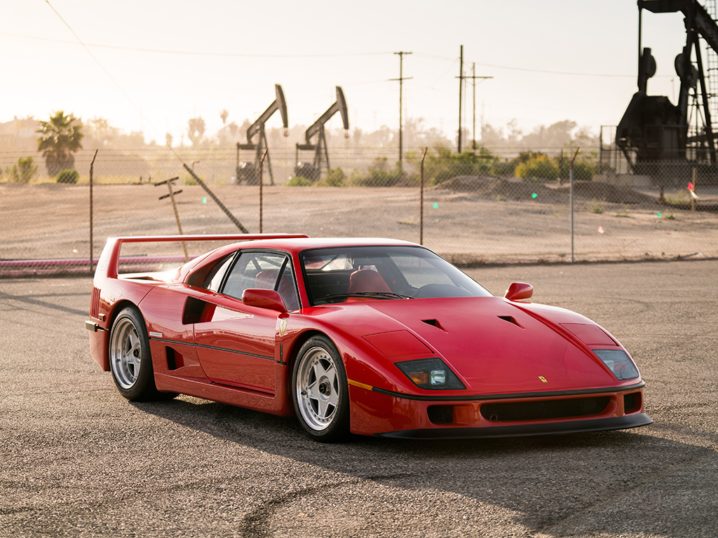 Ferrari F40 for auction (1)