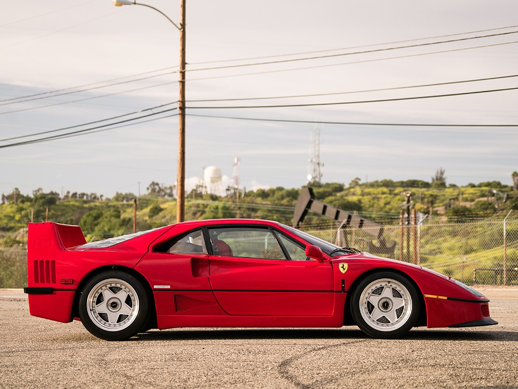 Ferrari F40 for auction (2)