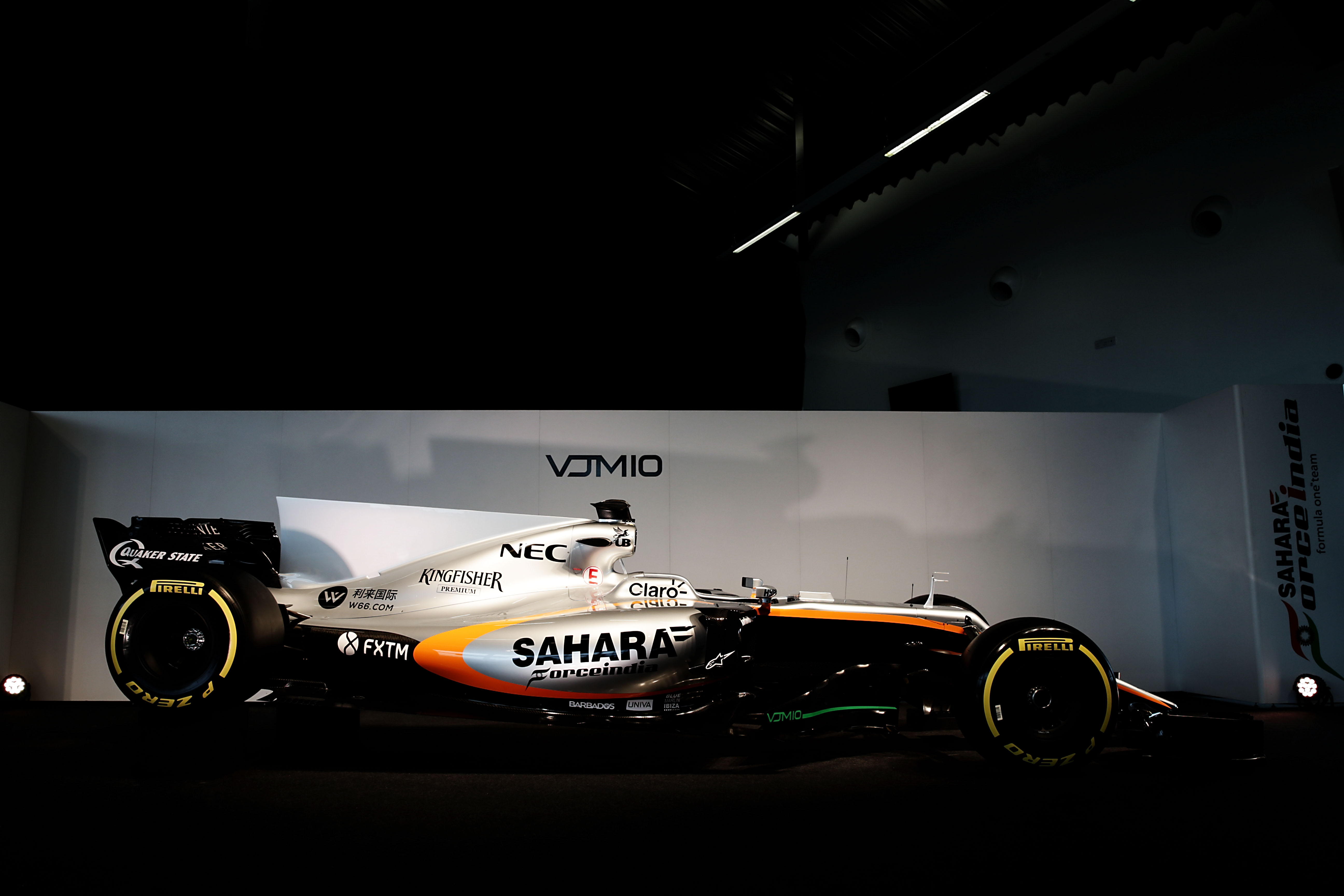Sahara Force India F1 VJM10 Launch