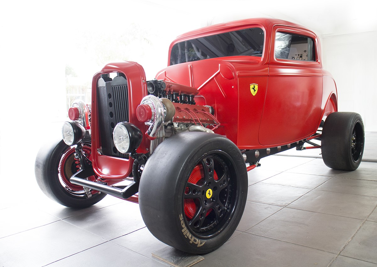 Ford 1932 with Twin Turbo Ferrari engine (1)