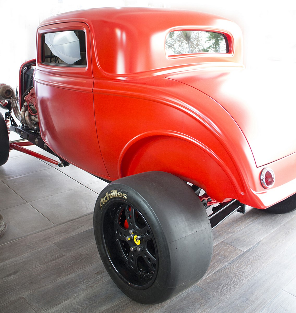 Ford 1932 with Twin Turbo Ferrari engine (16)