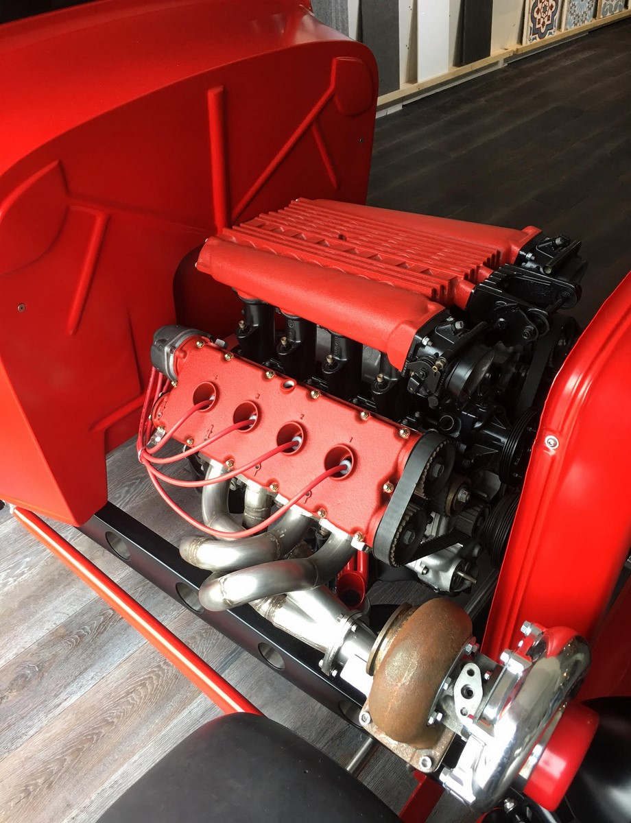 Ford 1932 with Twin Turbo Ferrari engine (25)