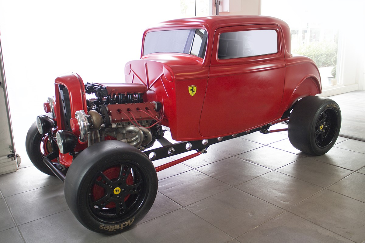 Ford 1932 with Twin Turbo Ferrari engine (3)