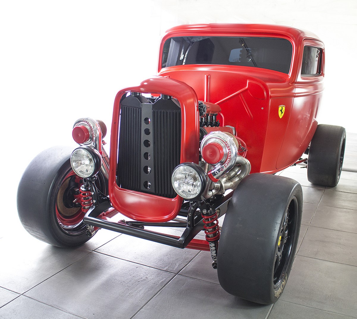 Ford 1932 with Twin Turbo Ferrari engine (4)