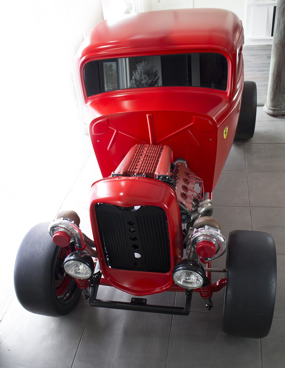 Ford 1932 with Twin Turbo Ferrari engine (7)