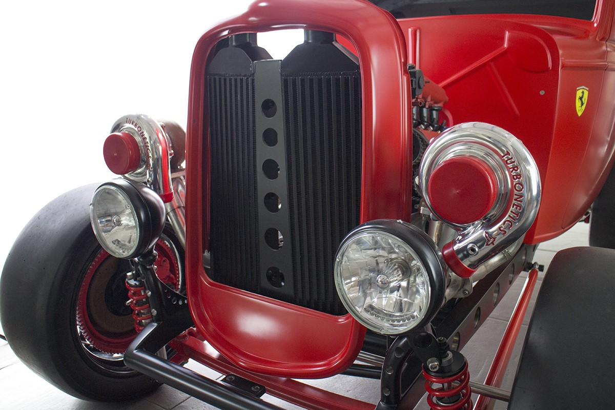 Ford 1932 with Twin Turbo Ferrari engine (9)