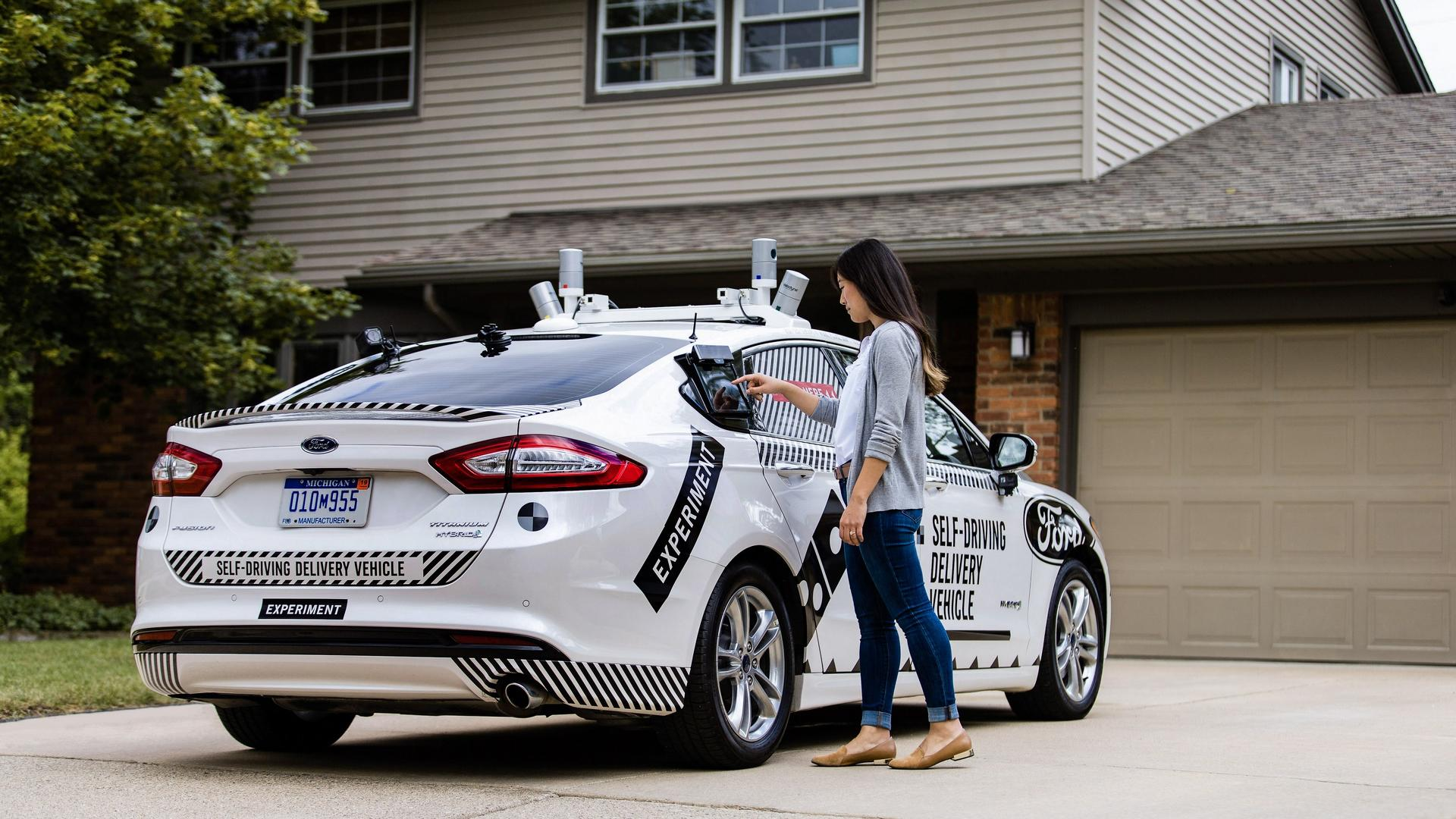 Ford and Domino's Autonomous Delivery Research